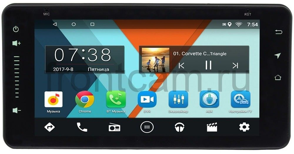 Штатная магнитола Toyota (универсальная) Wide Media MT6901 на Android 6.0.1 (+ Камера заднего вида в подарок!)