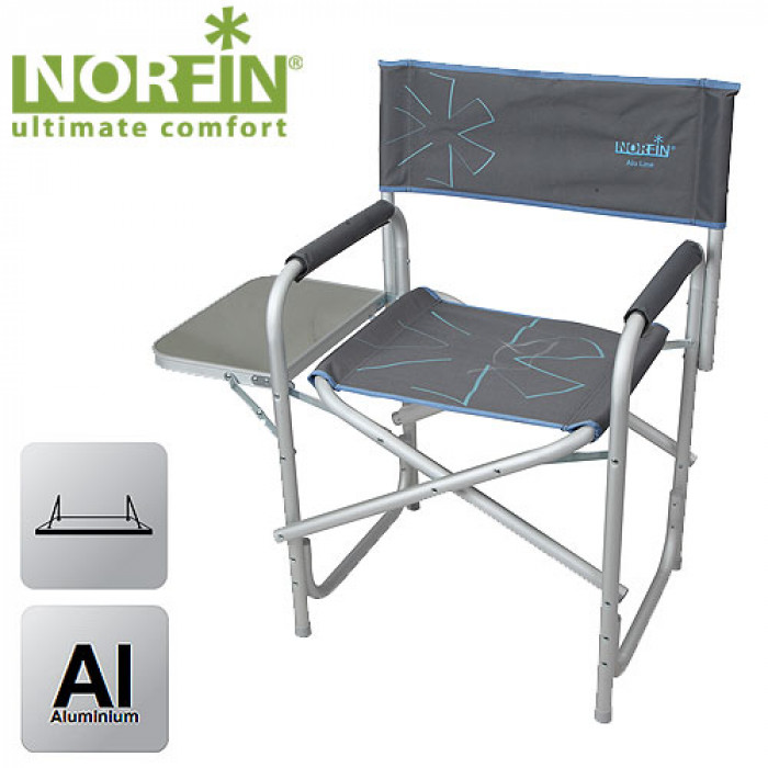Кресло складное Norfin VANTAA NFL алюминиевое norfin moss 6 nfl