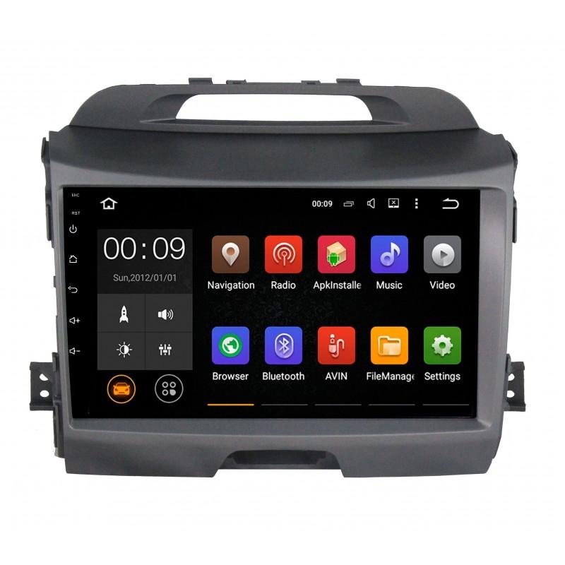 Штатная магнитола Roximo 4G RX-2313-N10 для KIA Sportage 3 (Android 6.0) (+ Камера заднего вида в подарок!)