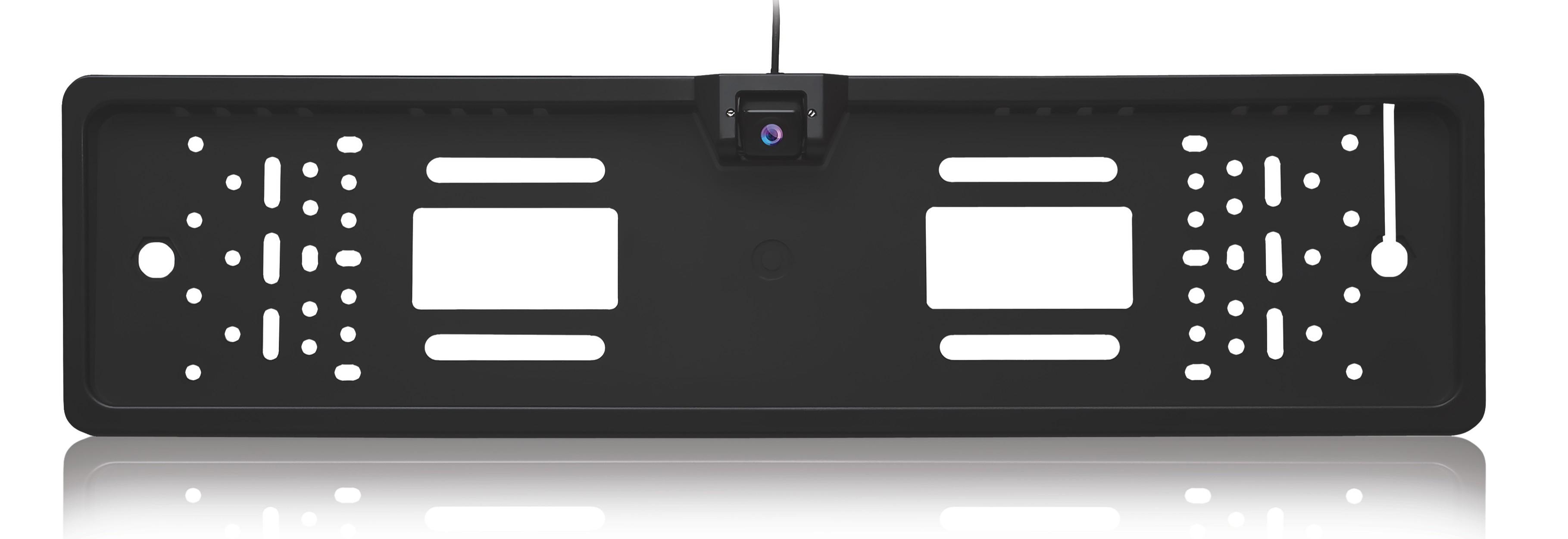 Камера заднего вида в рамке номерного знака AVS PS-815 (120 CMOS)