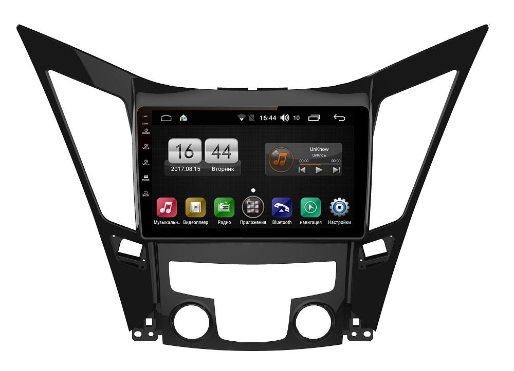 Штатная магнитола FarCar s185 для Hyundai Sonata 2011+ на Android (LY794R) (+ Камера заднего вида в подарок!)
