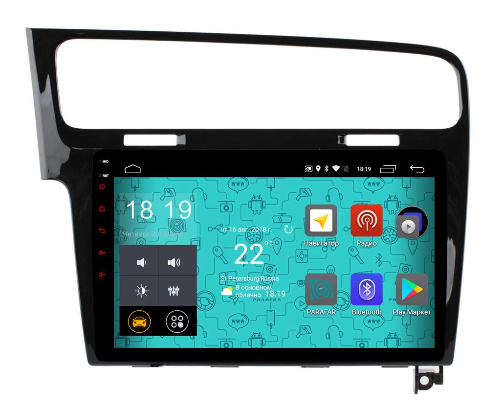 Штатная магнитола Parafar 4G/LTE с IPS матрицей для Volkswagen GOLF 7 на Android 7.1.1 (PF257) ^ a 7inch display for 7 megafon login 4 lte mflogin4 login 4g lcd screen display