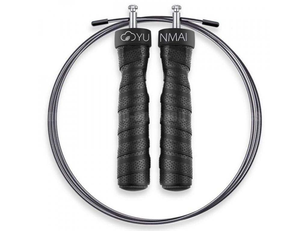 Скакалка Xiaomi Yunmai Jump Rope с утяжелителями скакалка скоростная металлическая bradex sf 0460 черная speed jump rope