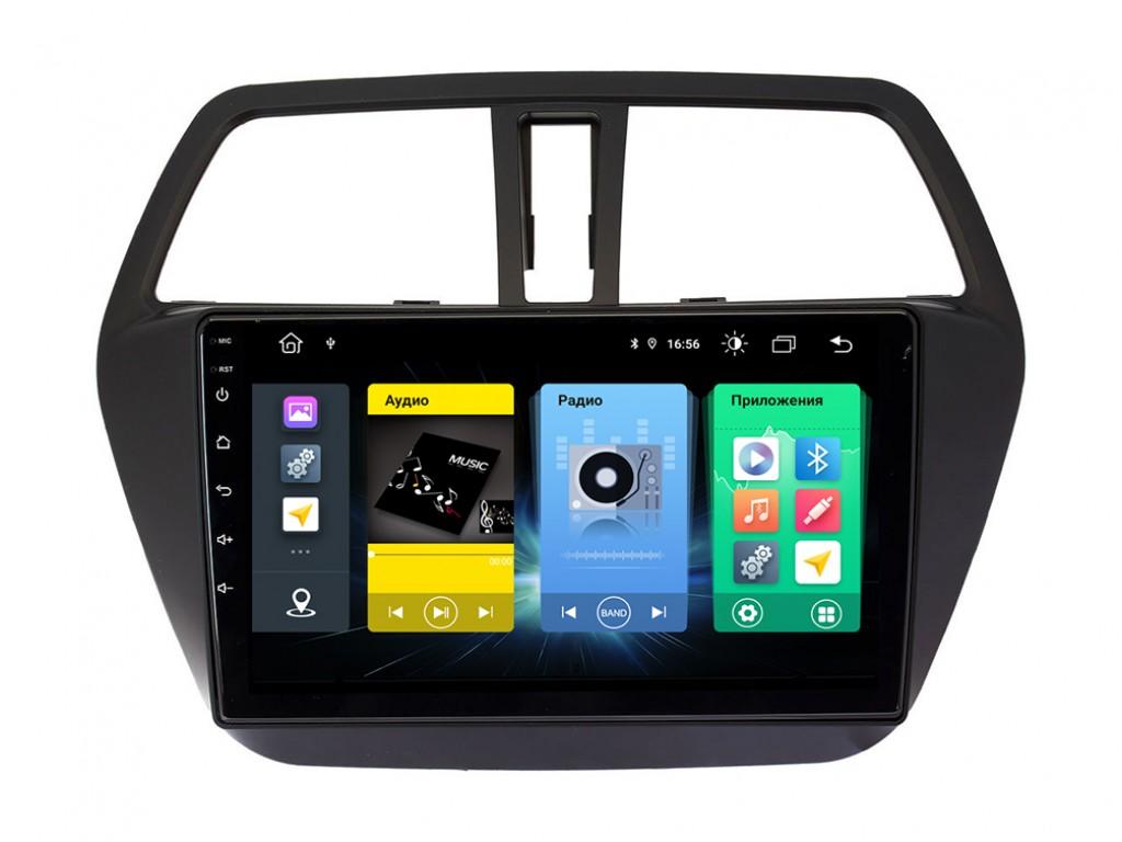 Головное устройство vomi FX404R9-MTK-LTE для Suzuki SX4, S-Cross 2013+ (+ Камера заднего вида в подарок!)