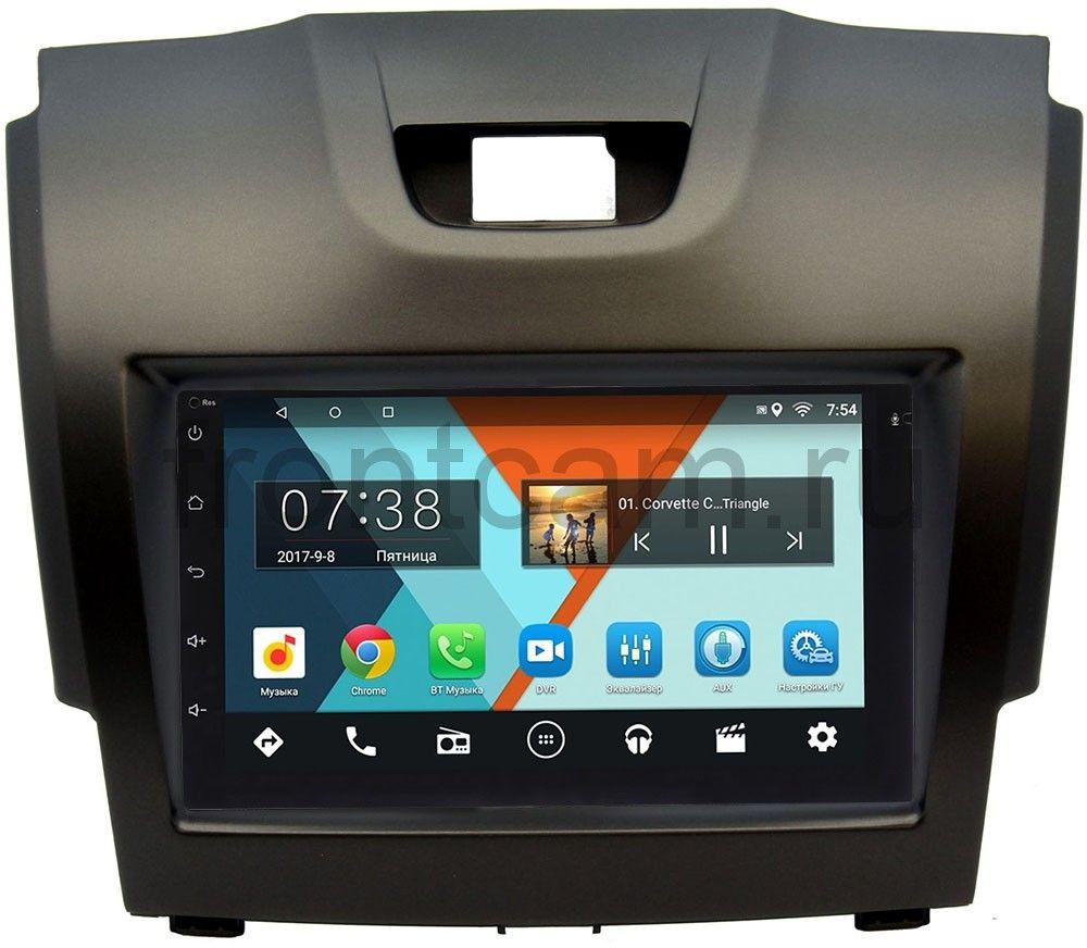 Штатная магнитола Wide Media MT7001-RP-CVTB-20 для Chevrolet Trailblazer II 2012-2016 на Android 7.0.1 (+ Камера заднего вида в подарок!)