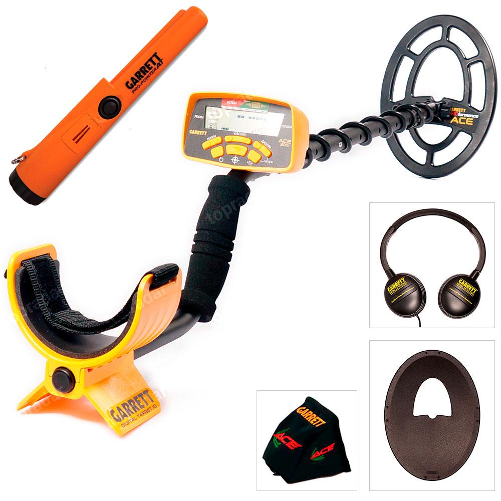 Металлоискатель Garrett ACE 300i + пинпоинтер Pro-Pointer AT (+ Пинпоинтер Garrett в подарок!) цены онлайн