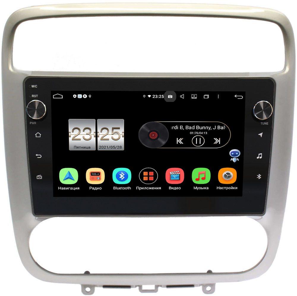 Штатная магнитола LeTrun BPX609-294 для Honda Stream 2000-2006 на Android 10 (4/64, DSP, IPS, с голосовым ассистентом, с крутилками) (+ Камера заднего вида в подарок!)