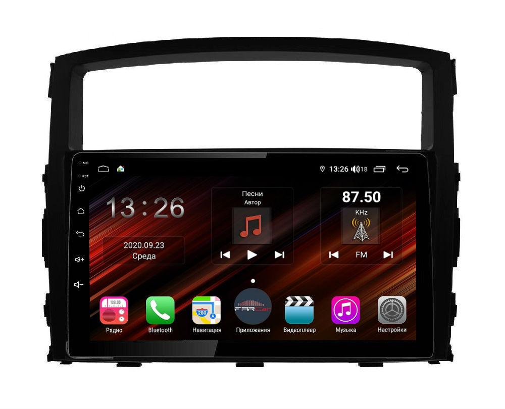 Штатная магнитола FarCar s400 Super HD для Mitsubishi Pajero на Android (XH1009R) (+ Камера заднего вида в подарок!)