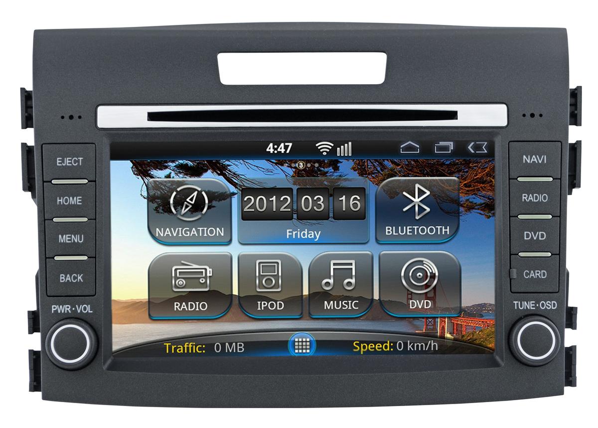 Штатная магнитола Incar AHR-3689CR Honda CR-V (Android) 2012+