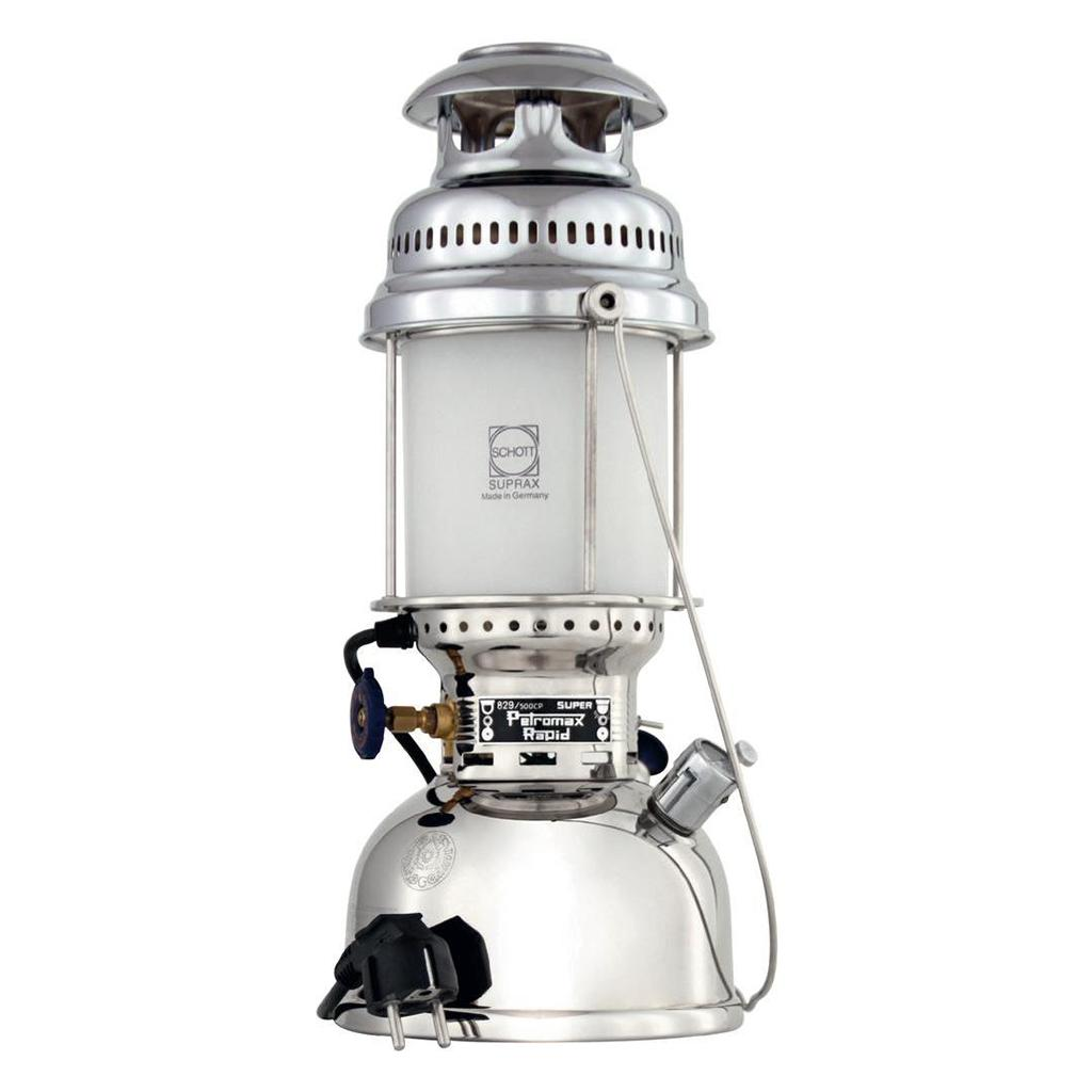 Лампа электрическая Petromax настольная 500HK Chrome Electro kartell настольная лампа