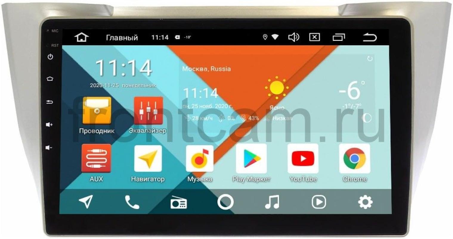 Штатная магнитола Lexus RX II 300, RX II 330, RX II 350, RX II 400h 2003-2009 Wide Media KS10-TK673-QR-3/32 DSP CarPlay 4G-SIM на Android 10 (+ Камера заднего вида в подарок!)