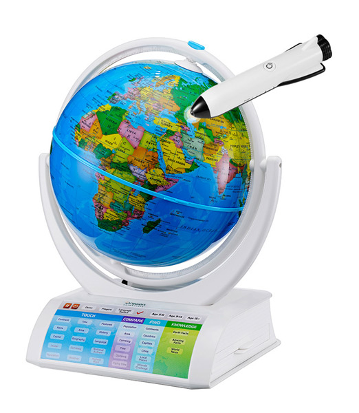 Фото - Интерактивный глобус Oregon Scientific Explorer AR федеративное устройство россии физическая карта россии