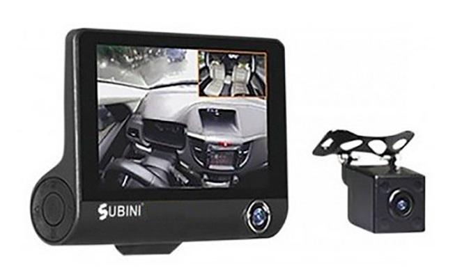 Видеорегистратор Subini GD-695RU (+ Разветвитель в подарок!) видеорегистратор зеркало с камерой заднего вида отзывы какой лучше