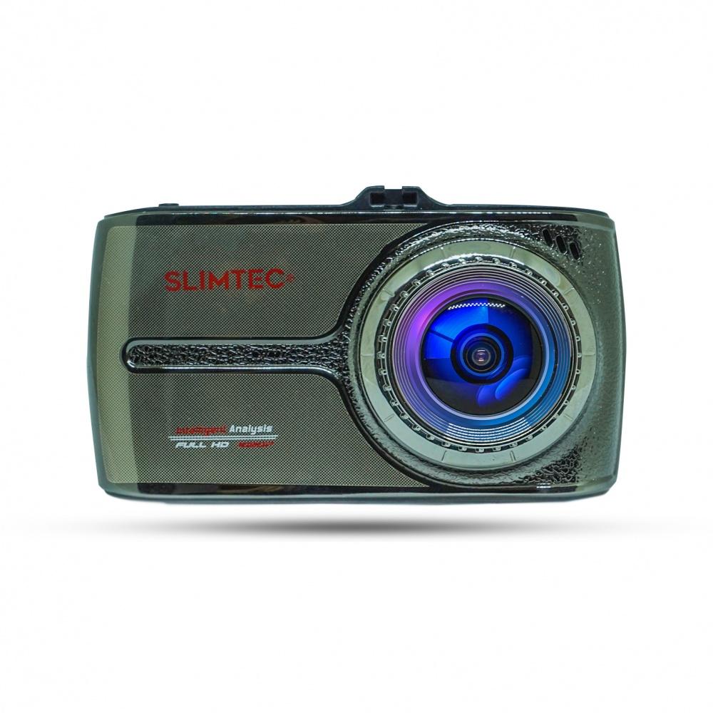 Автомобильный видеорегистратор с двумя камерами Slimtec DTouch