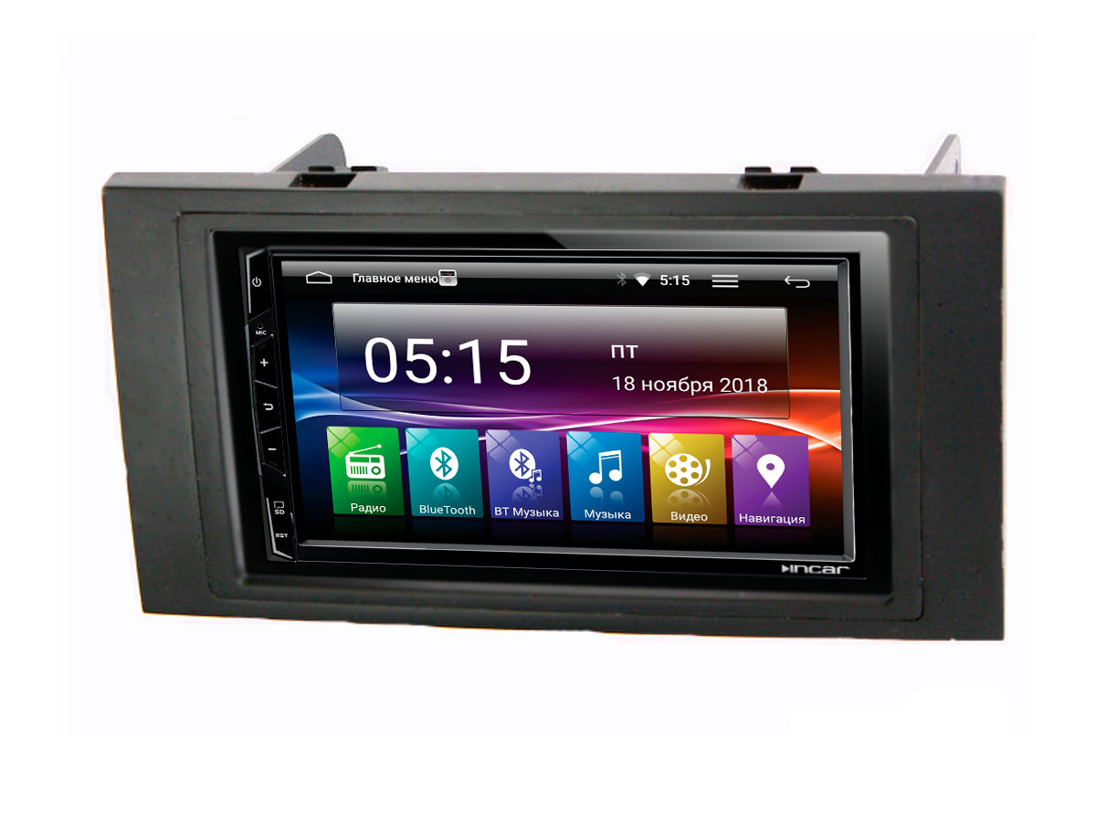 Штатная магнитола Incar 86-3301 для Ford Focus 2, C-Max, Kuga, Fusion, Fiesta 05+, S-Max, Transit на Android 7.0 (комплект) (+ Камера заднего вида в подарок!)