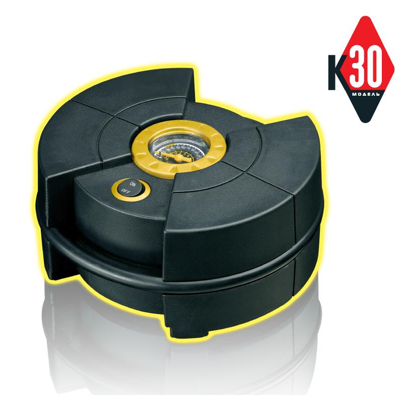 Компрессор автомобильный КАЧОК К30 (+ Мешки для колёс в подарок!)