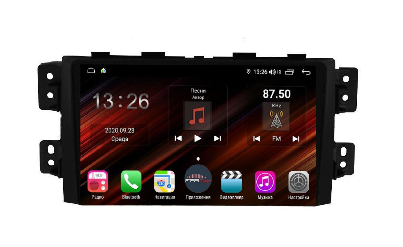 Штатная магнитола FarCar s400 Super HD для KIA Mohave на Android (XH465R) (+ Камера заднего вида в подарок!)