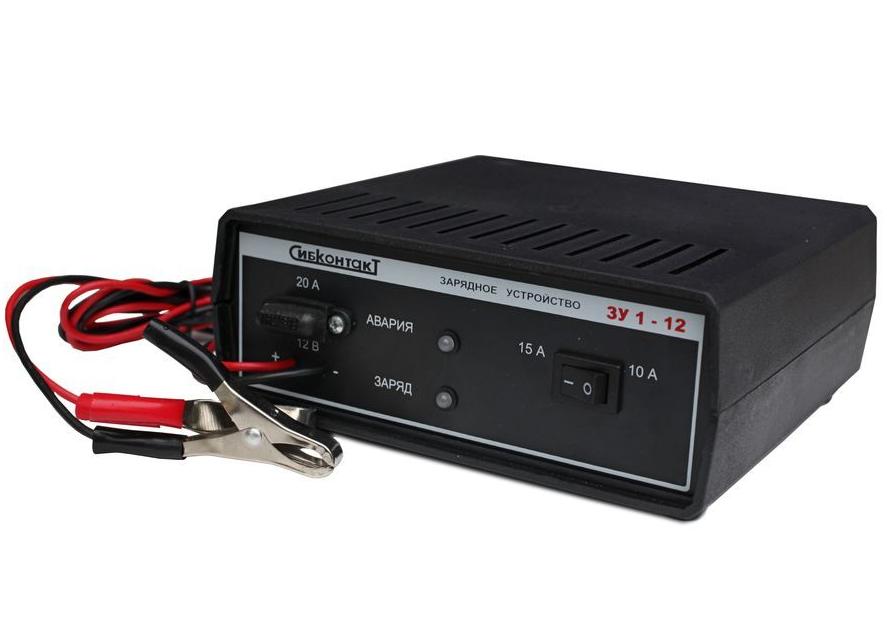 Зарядное устройство Сибконтакт ЗУ1-12-15(10) (+ Power Bank в подарок!)