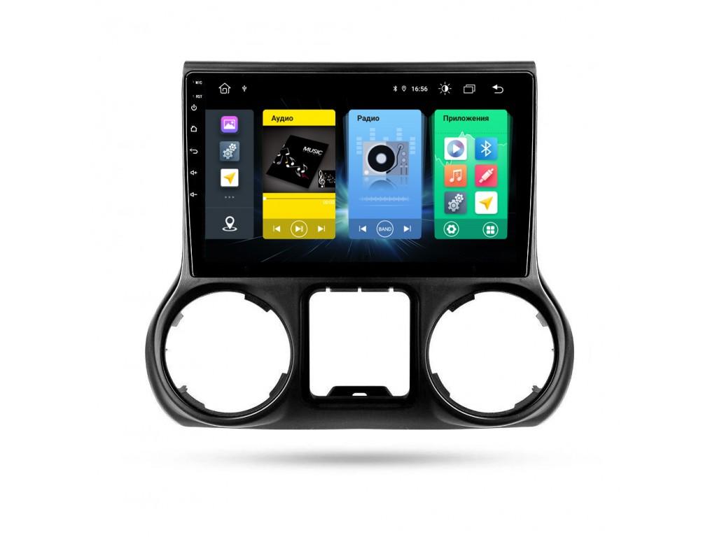Головное устройство vomi FX368R10-MTK-LTE для Jeep Wrangler 2015-2016 (+ Камера заднего вида в подарок!)