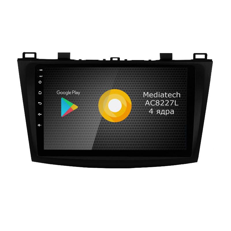 Штатная магнитола Roximo S10 RS-2414 для Mazda 3, 2009-2012 (Android 9.0) (+ Камера заднего вида в подарок!)