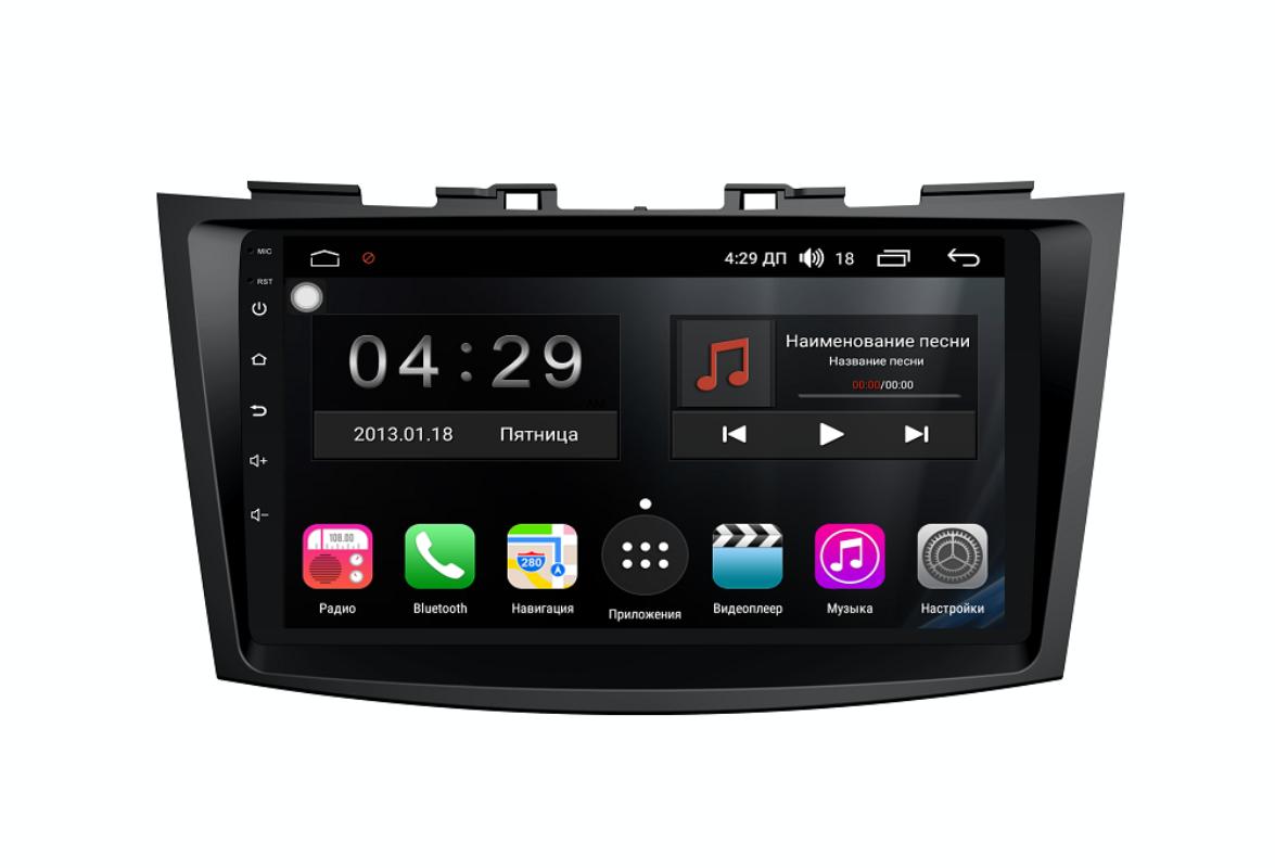 Штатная магнитола FarCar s300-SIM 4G для Suzuki Swift 2011+ на Android (RG179R) (+ Камера заднего вида в подарок!)