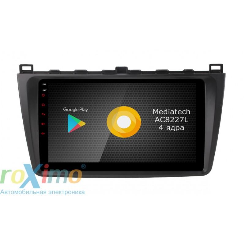Фото - Штатная магнитола Roximo S10 RS-2415 для Mazda Mazda 6, 2009 (Android 8.1) (+ Камера заднего вида в подарок!) видео