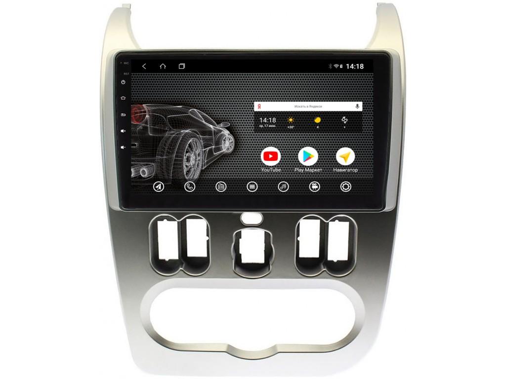 Головное устройство vomi ST2850-T3 для Лада Ларгус, Renault Sandero 2009-2014, Logan 2008-2014 (+ Камера заднего вида в подарок!)