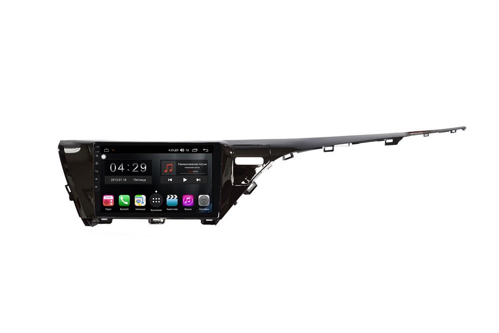 Штатная магнитола FarCar s300-SIM 4G для Toyota Camry 2018+ на Android (RG1069R) (+ Камера заднего вида в подарок!)