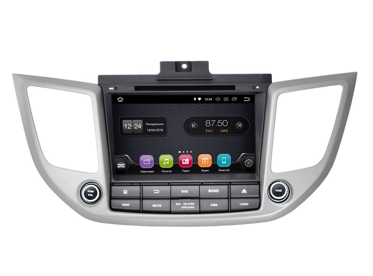 Штатная магнитола InCar TSA-2434 для Hyundai ix35 (Android 8.0) штатная магнитола incar tsa 2243 для toyota camry 2014 2015 android 8 0