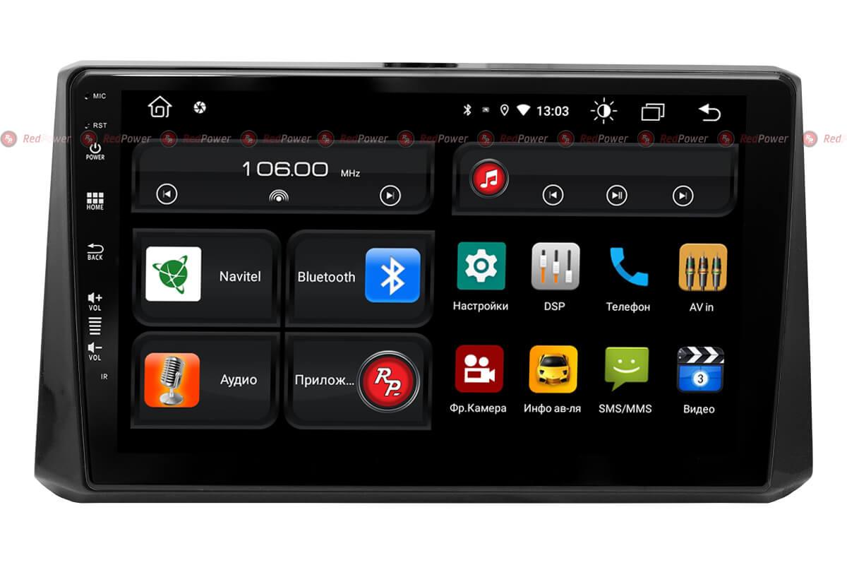 Автомагнитола для Toyota Corolla (2018-2020) RedPower 61072 (+ Камера заднего вида в подарок!)