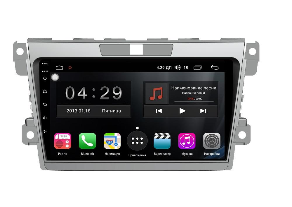 Штатная магнитола FarCar s300-SIM 4G для Mazda CX-7 2008-2012 на Android (RG097R) (+ Камера заднего вида в подарок!)