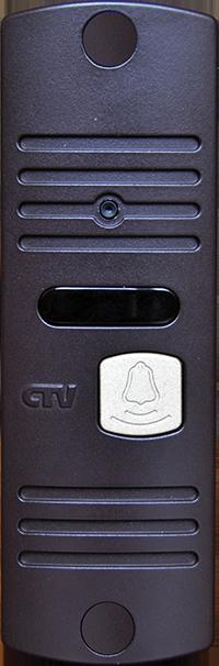 Вызывная панель для видеодомофонов CTV-D10NG (коричневый) (+ Салфетки из микрофибры в подарок)