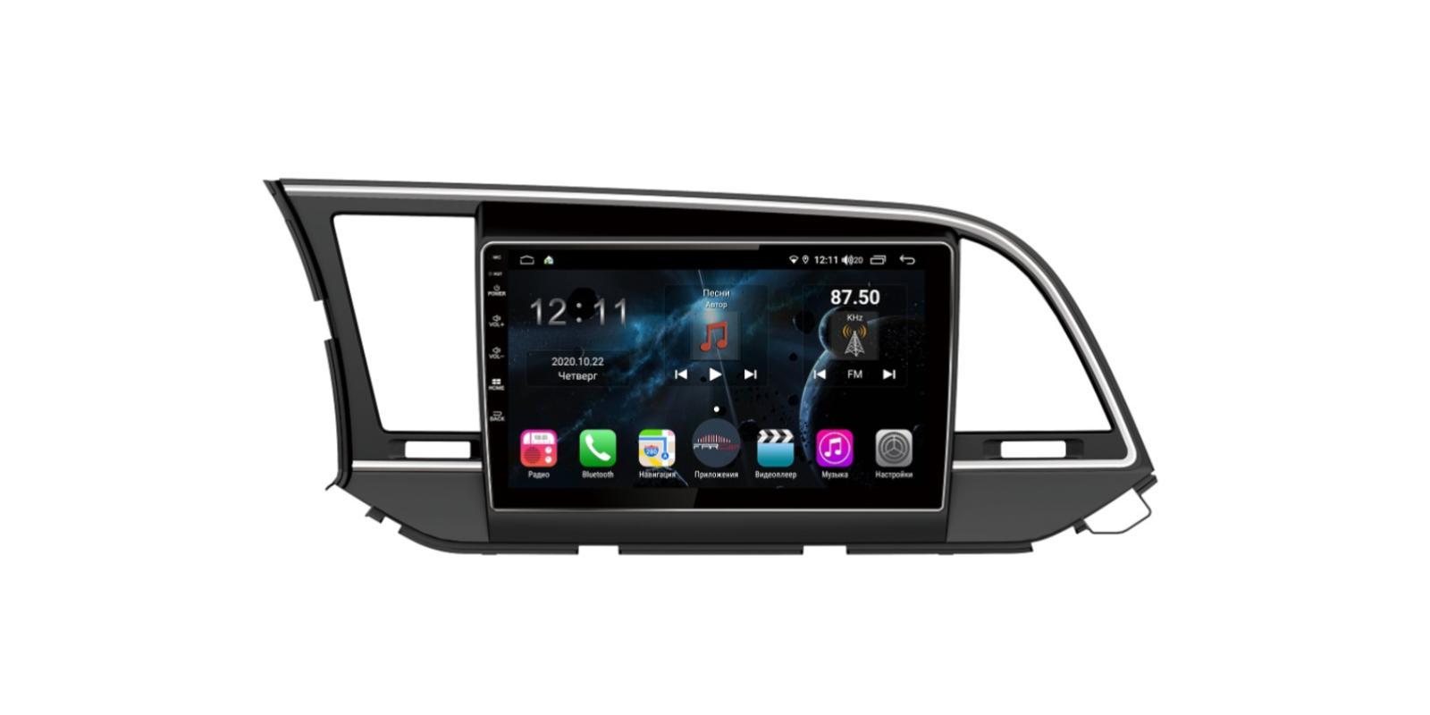Штатная магнитола FarCar s400 для Hyundai Elantra на Android (TG581R) (+ Камера заднего вида в подарок!)