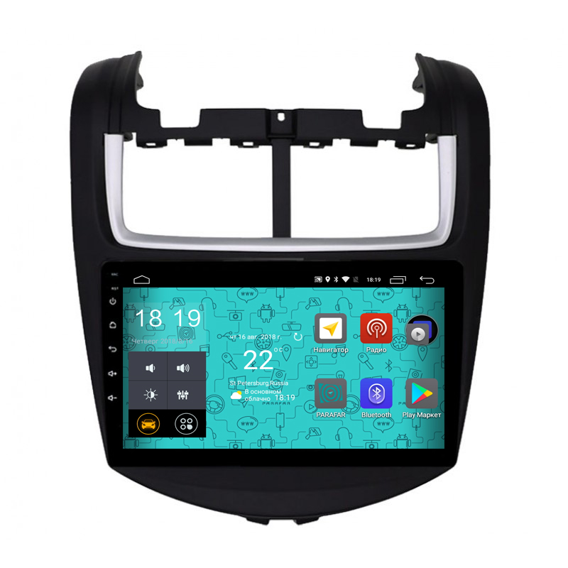 Штатная магнитола Parafar 4G/LTE с IPS матрицей для Chevrolet Aveo 2015+ на Android 7.1.1 (PF972) unlocked netger 4g 150mbps sierra wireless router aircard 770s 4g lte mobile wifi hotspot dongle 4g pocket wifi