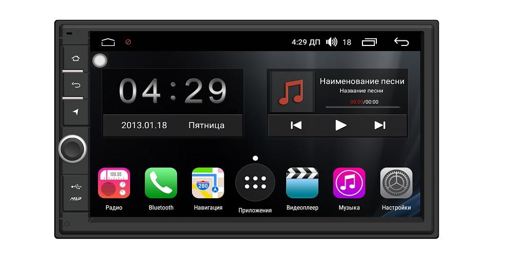 Штатная магнитола FarCar s300 Universal на Android (RL839) (+ Камера заднего вида в подарок!)