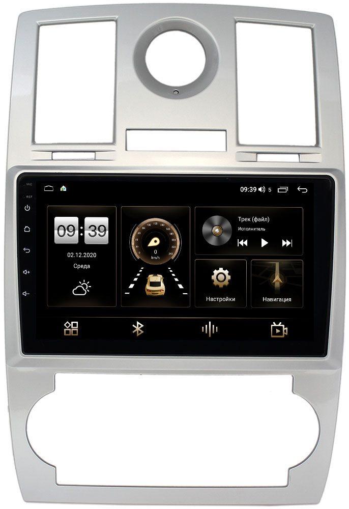 Штатная магнитола Chrysler 300C I 2004-2011 LeTrun 4166-9112 на Android 10 (4G-SIM, 3/32, DSP, QLed) (+ Камера заднего вида в подарок!)