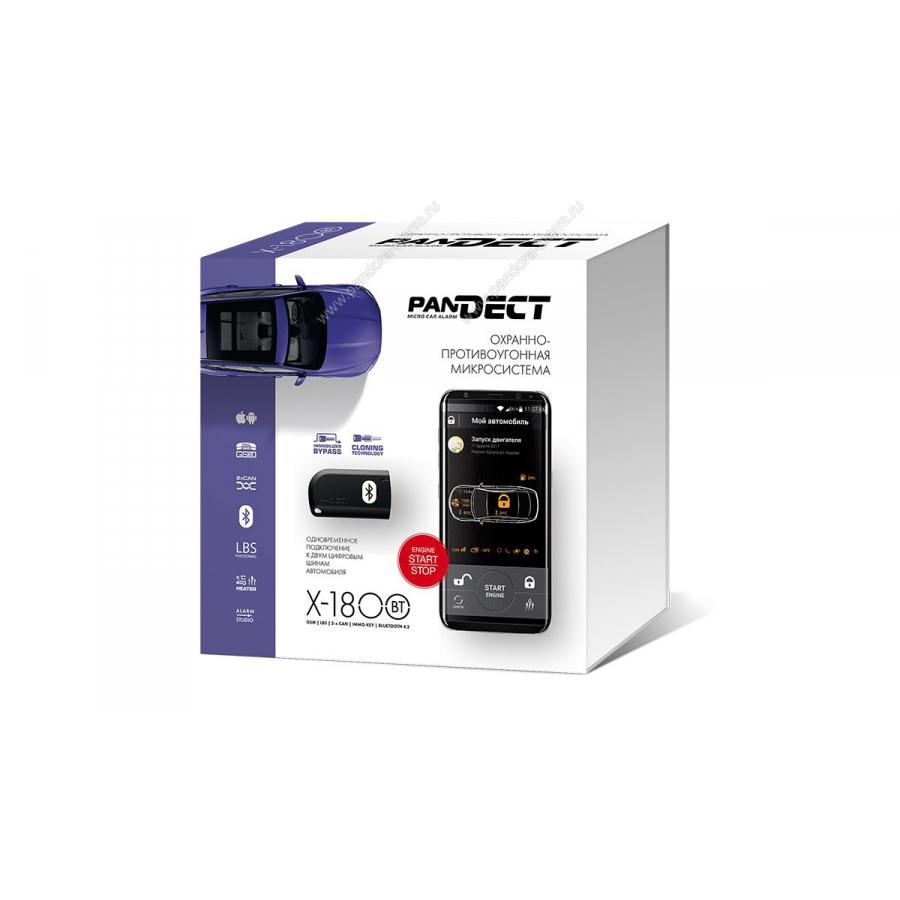 Автосигнализация Pandect X-1800 BT автосигнализация pandect x 1000bt