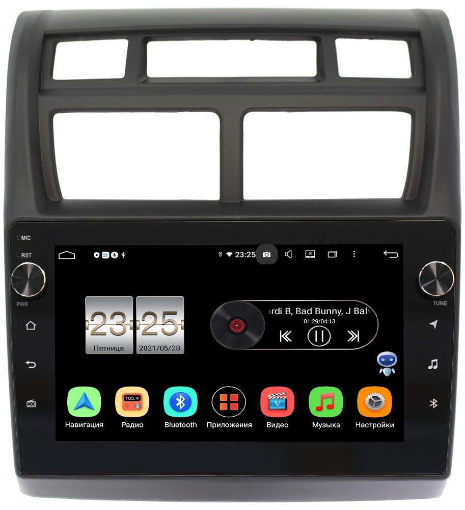 Штатная магнитола Kia Sportage II 2008-2010 LeTrun BPX409-9049 на Android 10 (4/32, DSP, IPS, с голосовым ассистентом, с крутилками) (+ Камера заднего вида в подарок!)