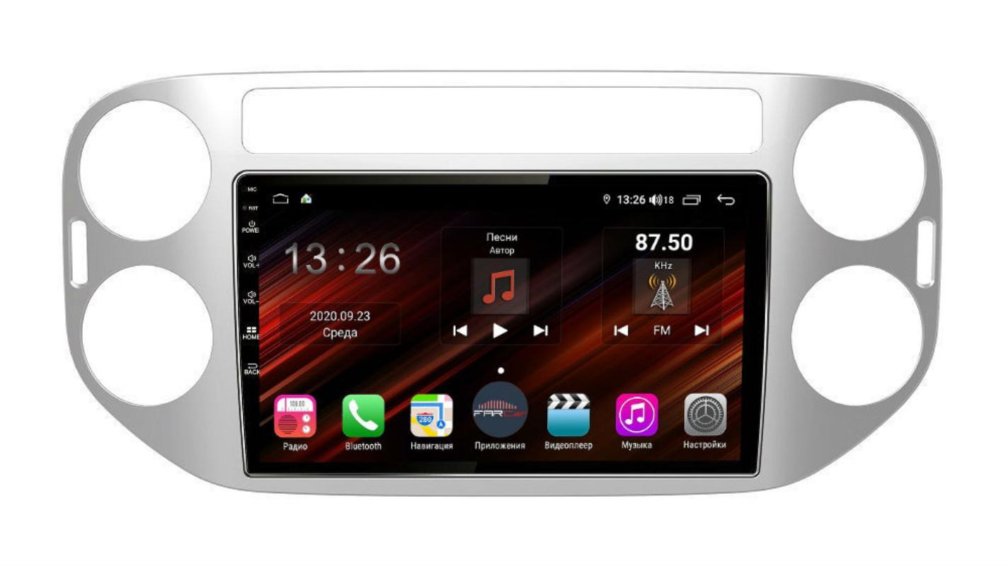 Штатная магнитола FarCar s400 Super HD для VW Tiguan на Android (XH489R) (+ Камера заднего вида в подарок!)