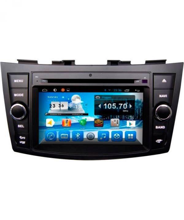 Штатная магнитола для Hyundai Santa Fe (2010-2012) CARMEDIA KD-7024-P3-7 на Android 7.1 штатная магнитола carmedia kd 1000 p3 7 универсальная установка ii din