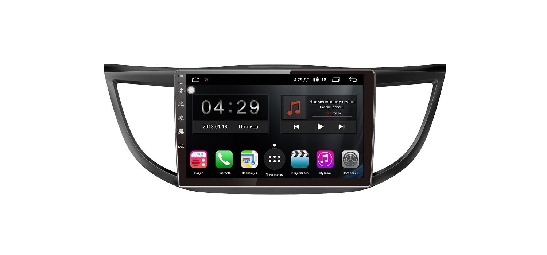 Штатная магнитола FarCar s300 для Honda CR-V на Android (RL469R) (+ Камера заднего вида в подарок!) штатная магнитола honda cr v v 2017 2018 letrun 1942 на android 5 1 1 intel sofia