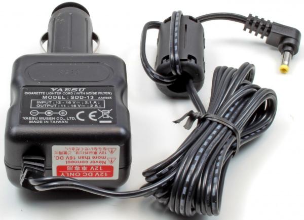 Автомобильное зарядное устройство для раций Yaesu sdd-13