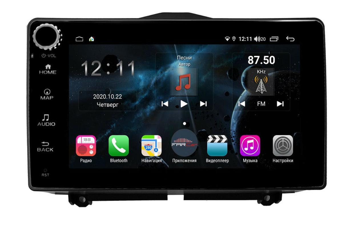 Штатная магнитола FarCar s400 для Lada Granta на Android (H1206RB) (+ Камера заднего вида в подарок!)