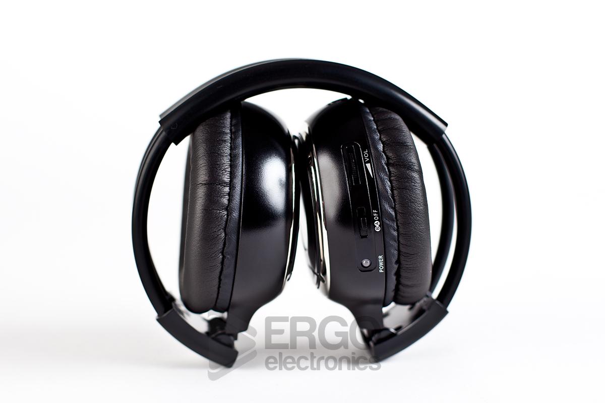 Беспроводные ИК наушники ERGO ER901IR (двухканальные) беспроводные ик наушники avis avs002hp двухканальные