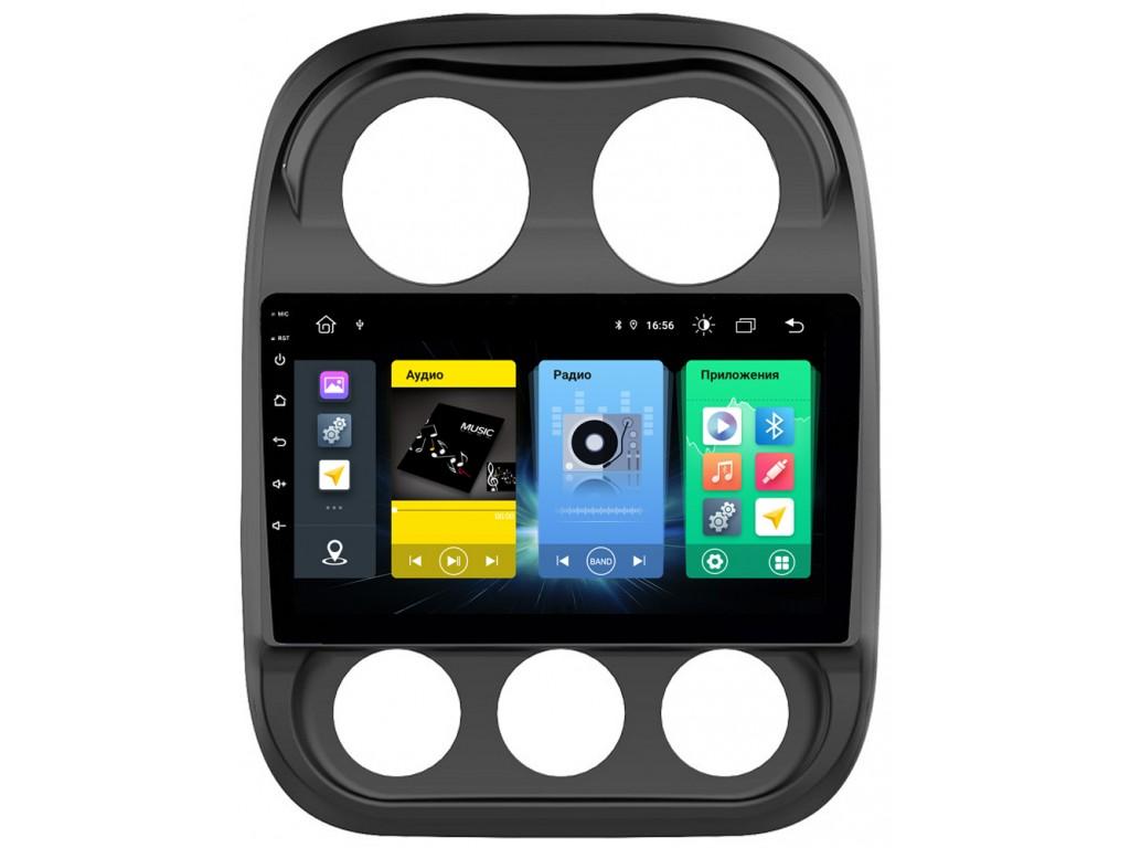 Головное устройство vomi FX436R10-MTK-LTE для Jeep Compass 07.2011 - 12.2015 (+ Камера заднего вида в подарок!)