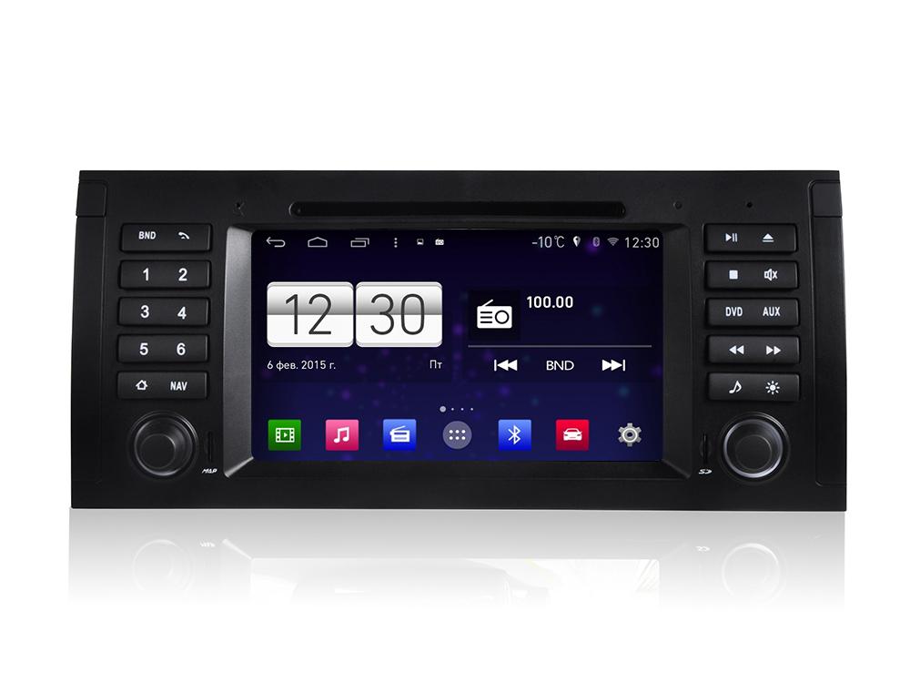 Штатная магнитола FarCar s160 для BMW E38, E39, E53 на Android (m395) штатная магнитола farcar s160 для audi a4 m050