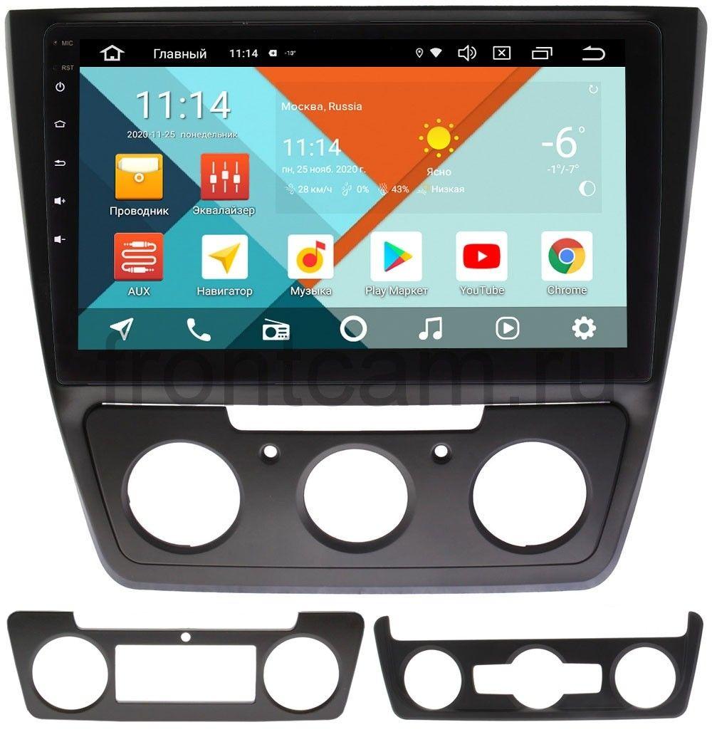 Штатная магнитола Wide Media KS1023QR-3/32 DSP CarPlay 4G-SIM для Skoda Yeti I на Android 10 (+ Камера заднего вида в подарок!)