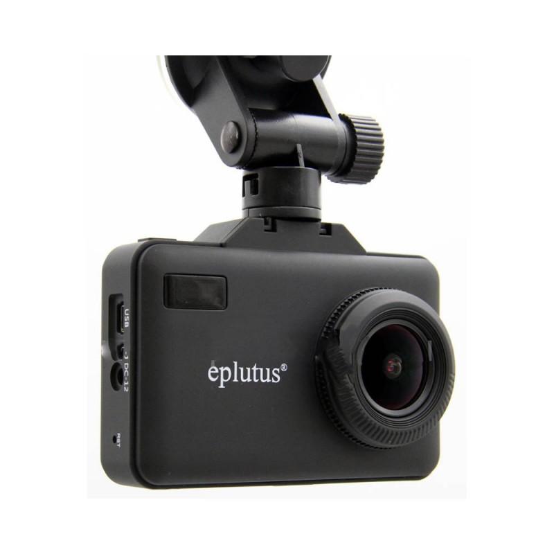Автомобильный видеорегистратор с радар-детектором и GPS Eplutus GR-94 (+ Разветвитель в подарок!) eplutus gr 96 видеорегистратор с радар детектором и gps разветвитель в подарок