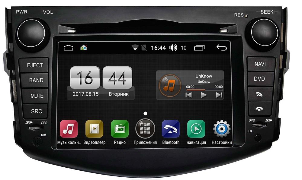 Штатная магнитола FarCar s300 для Toyota Rav-4 2006-2012 на Android (RL018) (+ Камера заднего вида в подарок!) стоимость