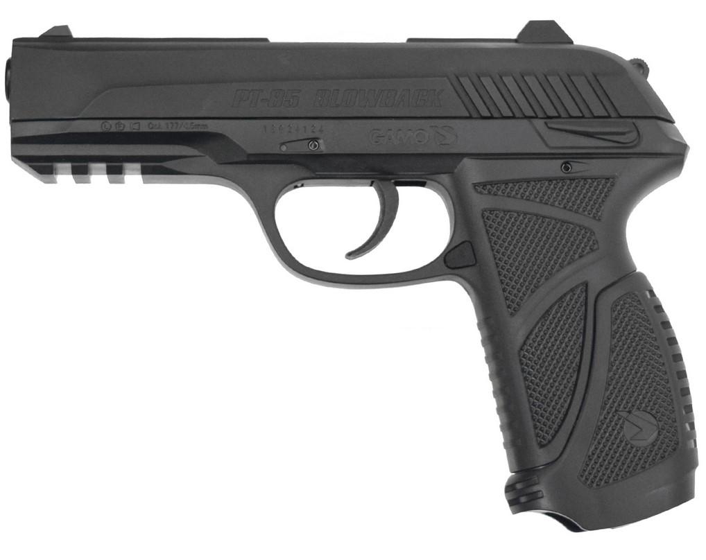 Пневматический пистолет GAMO PT-85 BlowBack цена